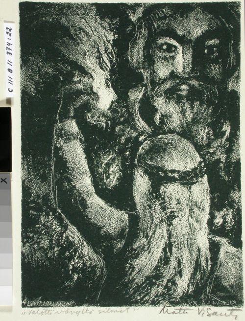Kalevalan kuvitusta, XXI runo