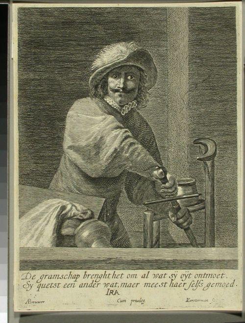 Ira; mies, joka vetää miekkansa tupesta
