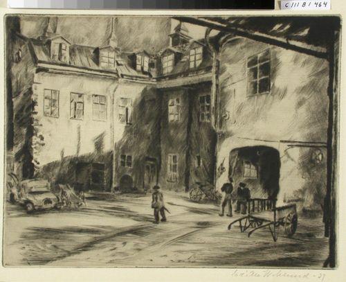 Vanha piha (Pihakuva Tukholmasta)
