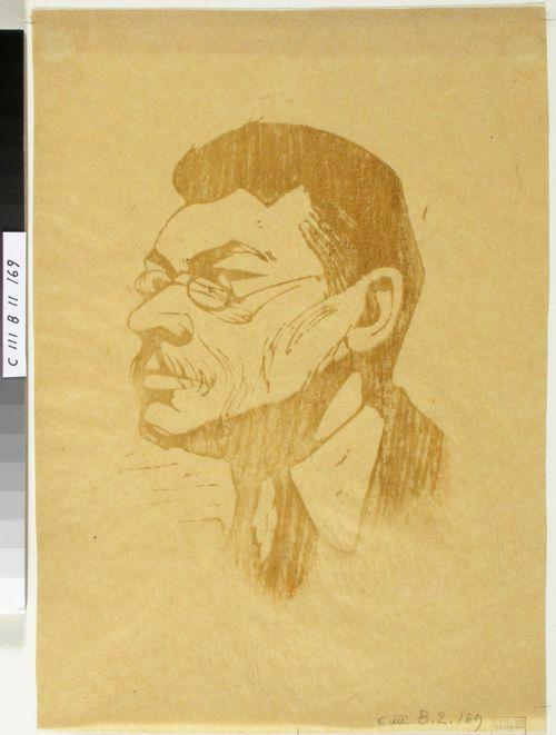 Taiteilija Ali Munsterhjelmin muotokuva