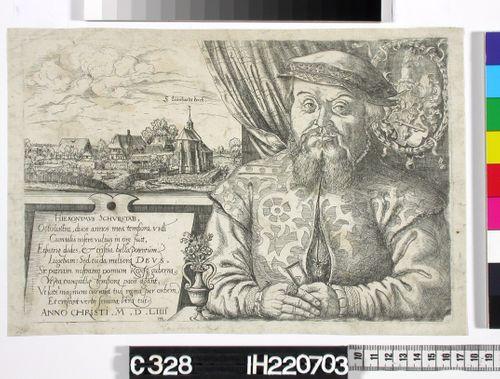 Hieronymus Schurstab (puolivartalokuva )