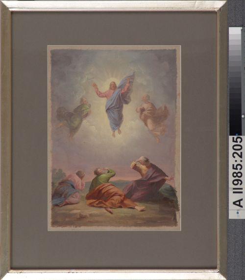 Kristuksen kirkastus, Sortavalan kirkon alttaritaulun luonnos
