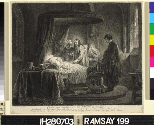 Kristus herättää Jairuksen tyttären kuolleista