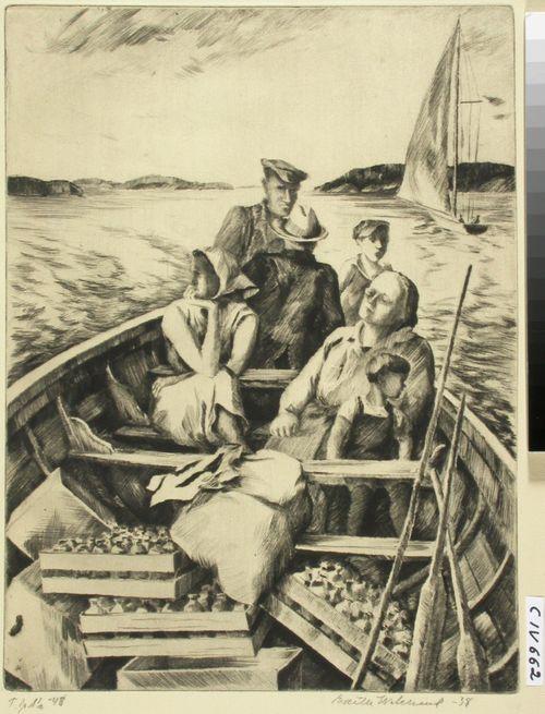 Saaristolaisveneessä