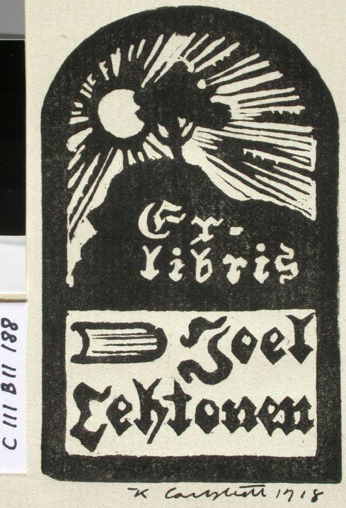 Joel Lehtosen exlibris