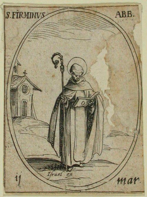 P. Firminus (84) / Pyhimyskalenteri (15 kuvaa 124 levyn ja 490 kuvan sarjasta)