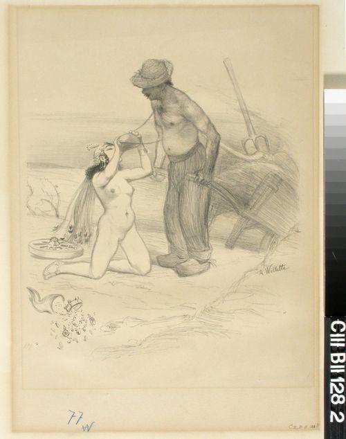Le laboureur et la reine de Saba