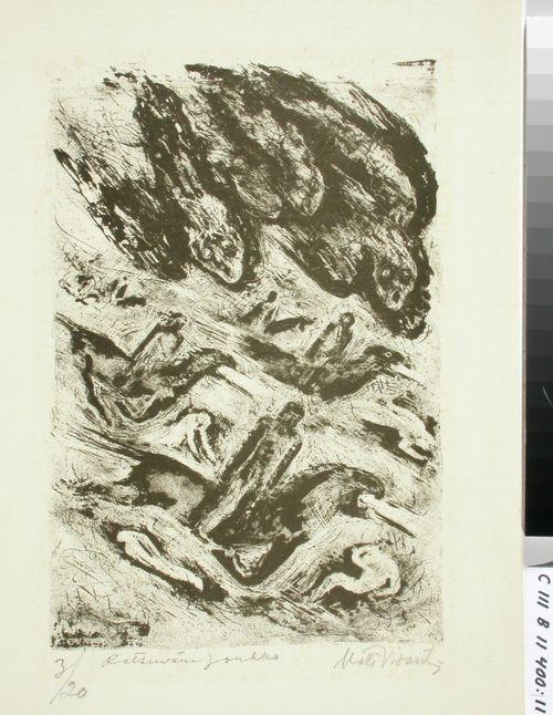 Ilmestyskirja ; Ratsuväen joukko (kuva 9)