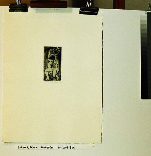 nimetön (salkusta Lahden Taideinstituutti, Grafiikkaa 1988)