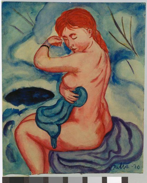 Kylvyn jälkeen (Renoir)