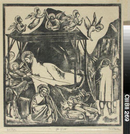 Kristuksen syntymä, Giotton mukaan