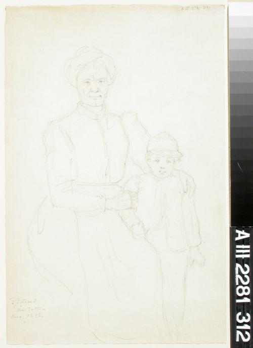 Vanha nainen ja poika
