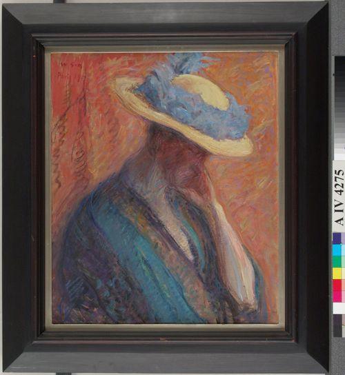 Nainen ja hattu