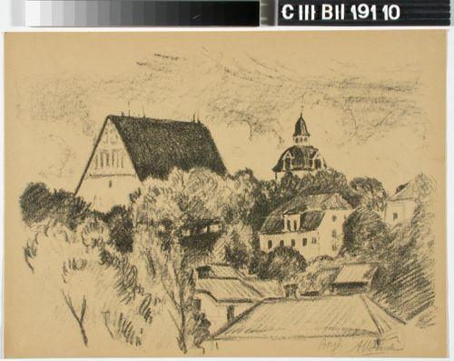 Porvoon tuomiokirkko ja Flensborgin talo