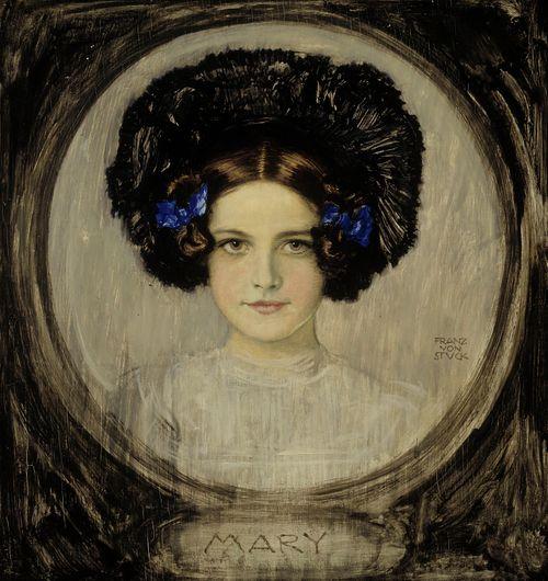 Mary, taiteilijan tyttären muotokuva