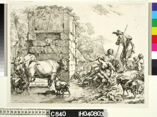 Juomalammikolla (La vache qui s'abreuve)