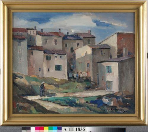 Ranskalainen kyläkuva