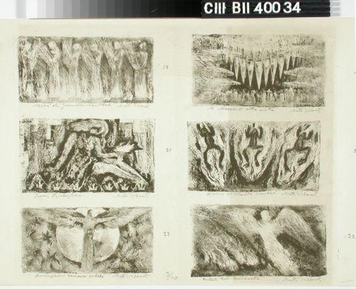 Ilmestyskirja ; 6 vignettiä (18-23)