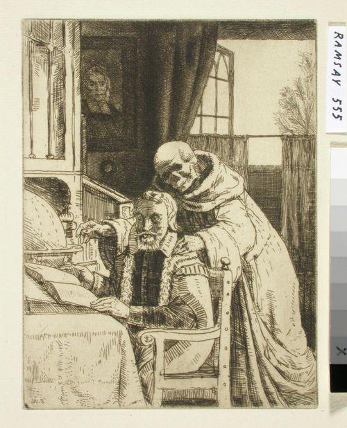 Izaak Walton. Kuvitusta Izaak Waltonin ja Charles Cottonin The Compleat Agler
