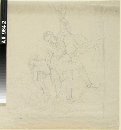 Mies nostaa tajutonta naista merestä(?)
