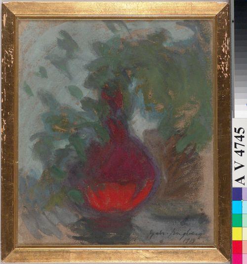 Punainen maljakko