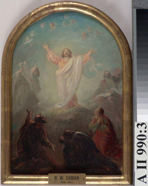 Kristuksen kirkastus, alttaritaululuonnos