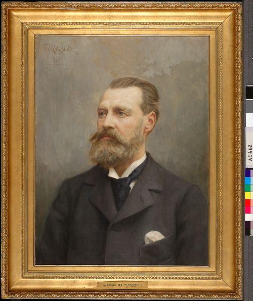 Arkkitehti Theodor Deckerin muotokuva