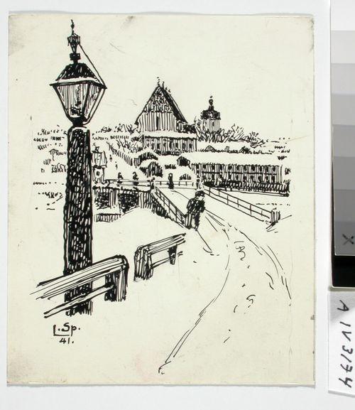 Näkymä Porvoon sillalta