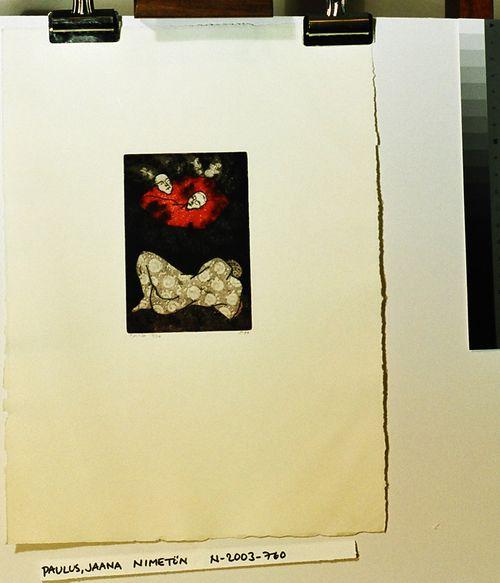 nimetön (salkusta Grafiikkaa, Lahden Taideinstituutti 1988)