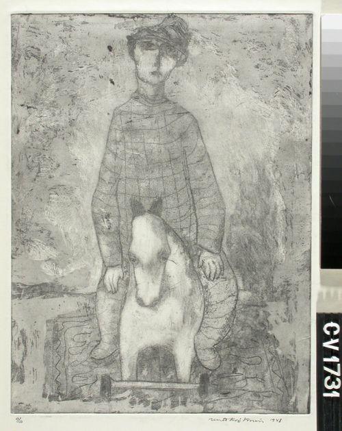 Poika ja puuhevonen