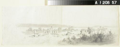 Kastelholman linnan rauniot