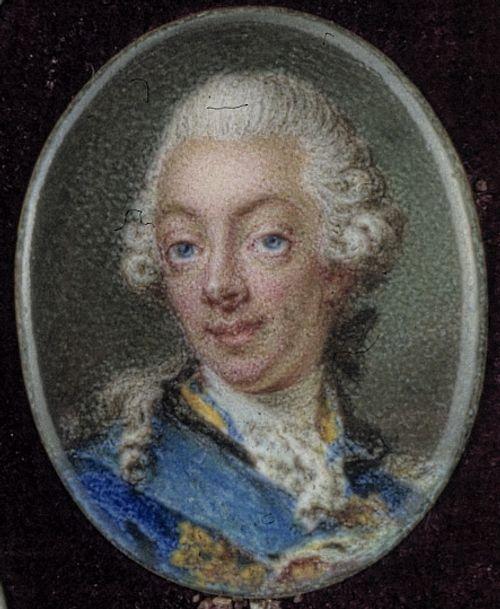 Kuningas Kustaa III kruununprinssinä
