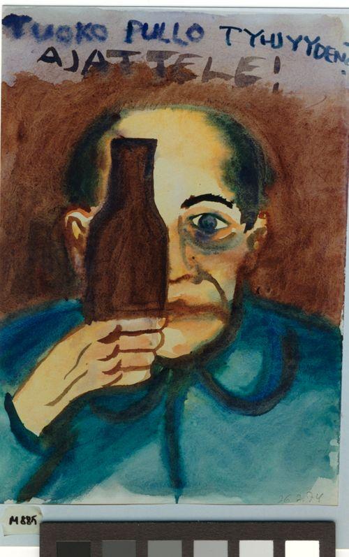 Tuoko pullo tyhjyyden? Ajattele!