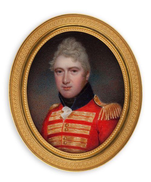 Englantilaisen upseerin muotokuva