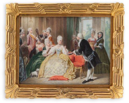 Gluck esittelee ensimmäisen oopperansa Marie Antoinettelle