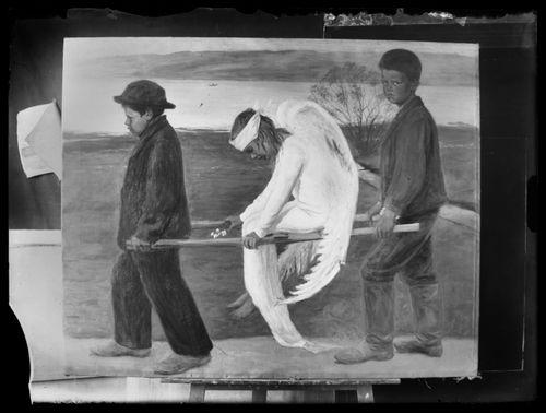 Haavoittunut enkeli, ensimmäinen versio