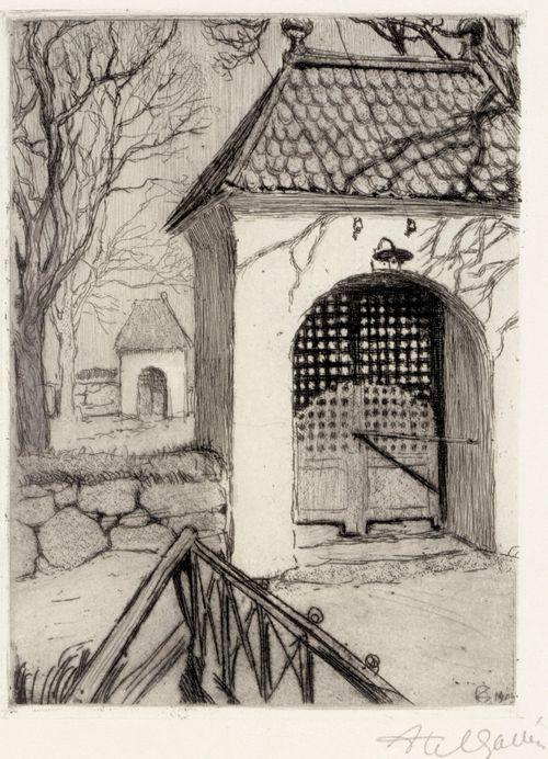 Gate of the Rauma Graveyard