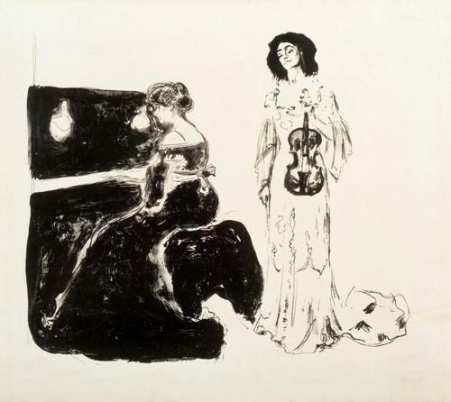Viulukonsertti (Eva Mudocci ja Bella Edvards)