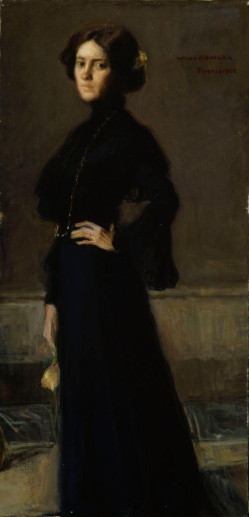 Nainen mustissa (Tyra Sjöström os. Malmström)