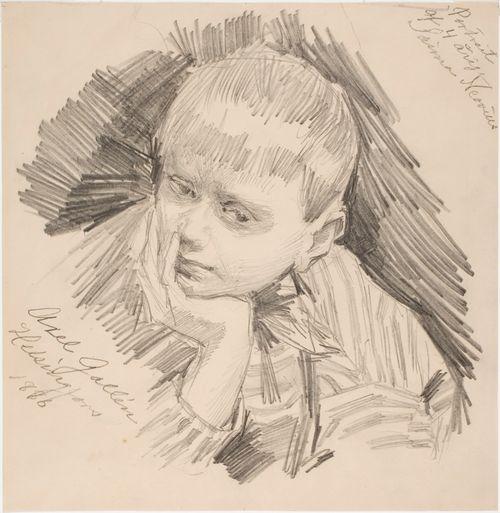 Saima Neovius, aged four