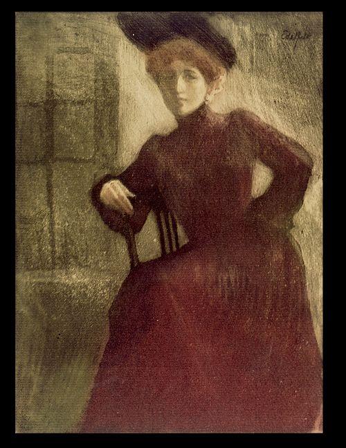 Pariisitar (Punapukuinen nainen - M:lle Perrot)