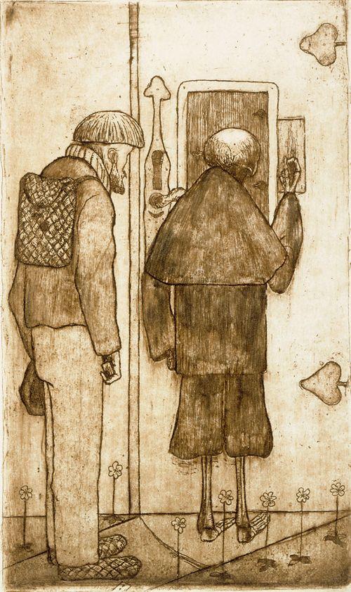 Talonpoika ja kuolema taivaan portilla