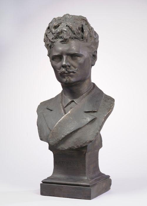 August Strindbergin rintakuva