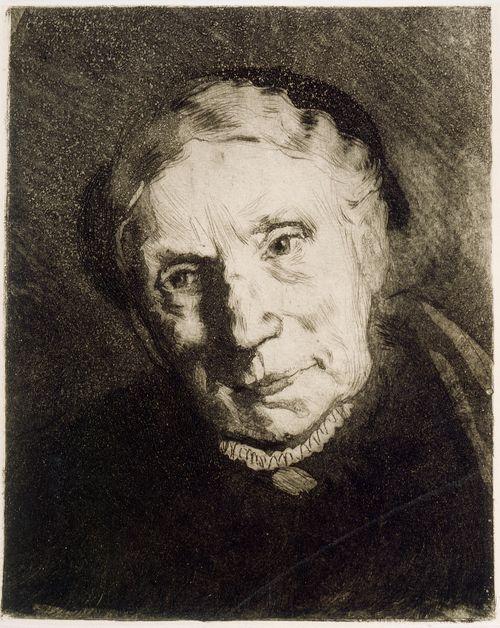 Vanha isoäiti (Emma Ehrström)