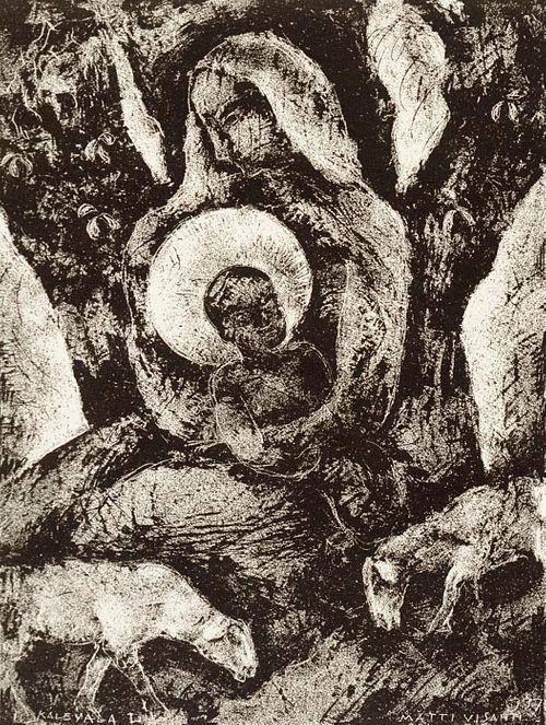 Kalevalan kuvitusta, L runo