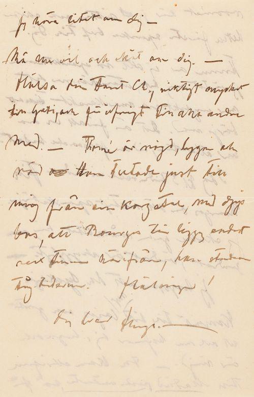 Hugo Simbergin kirje Elsa Simbergille 21.4.1904 (a)